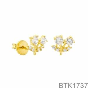 Bông Tai Vàng Vàng 18K - BTK1737
