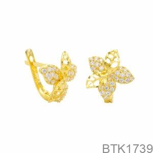 Bông Tai Vàng Vàng 18K - BTK1739