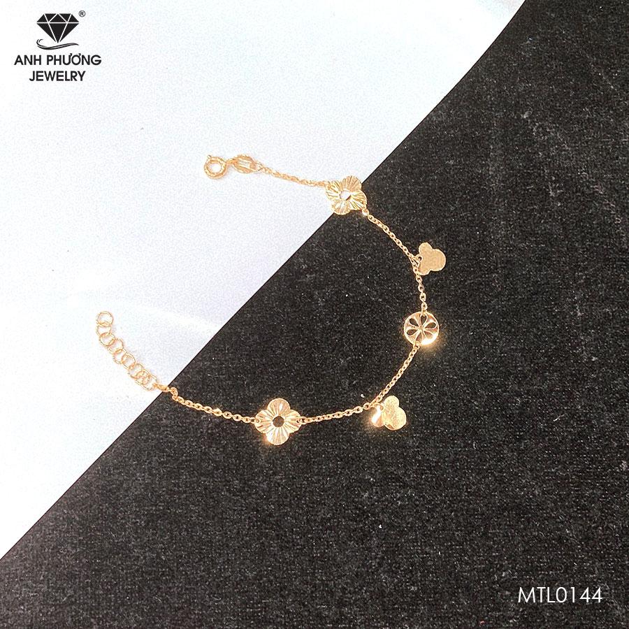 Lắc Tay Vàng Vàng 18K – MTL0144