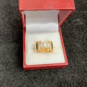 Nhẫn Nam Vàng Vàng 18K - MTN1353