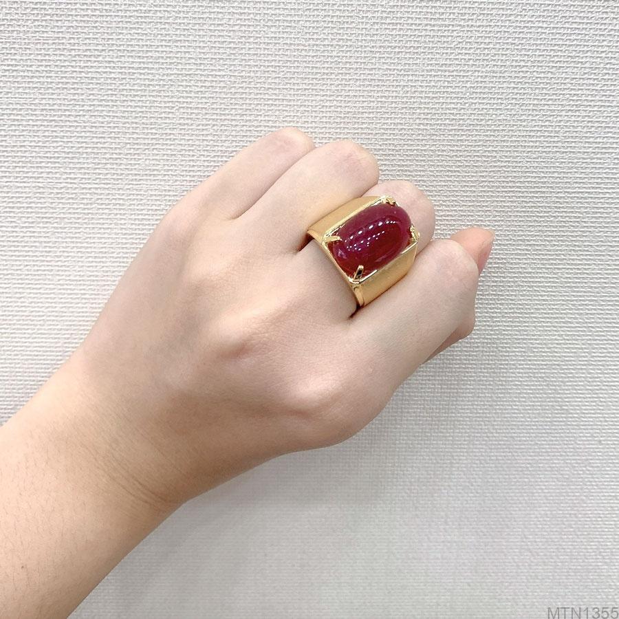 Nhẫn Nam Vàng Vàng 18K - MTN1355