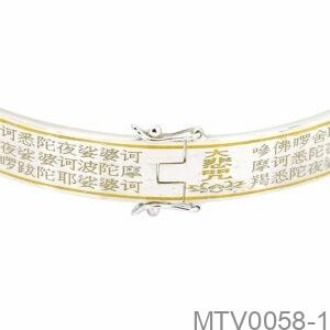 Vòng Tay Bạc Nam - MTV0058-1