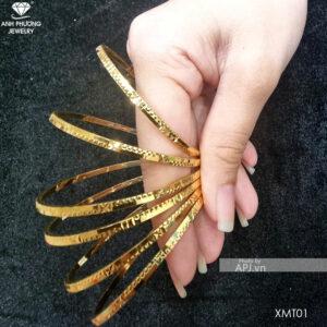 Bộ Vòng Ximen Vàng Vàng 18k - XMT01