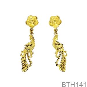 Bông Tai Cưới Vàng 24K - BTH141
