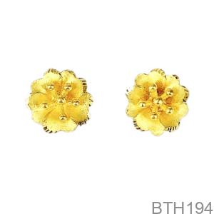 Bông Tai Cưới Vàng 24K - BTH194