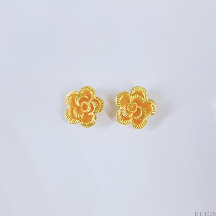 Bông Tai Cưới Vàng 24K - BTH225