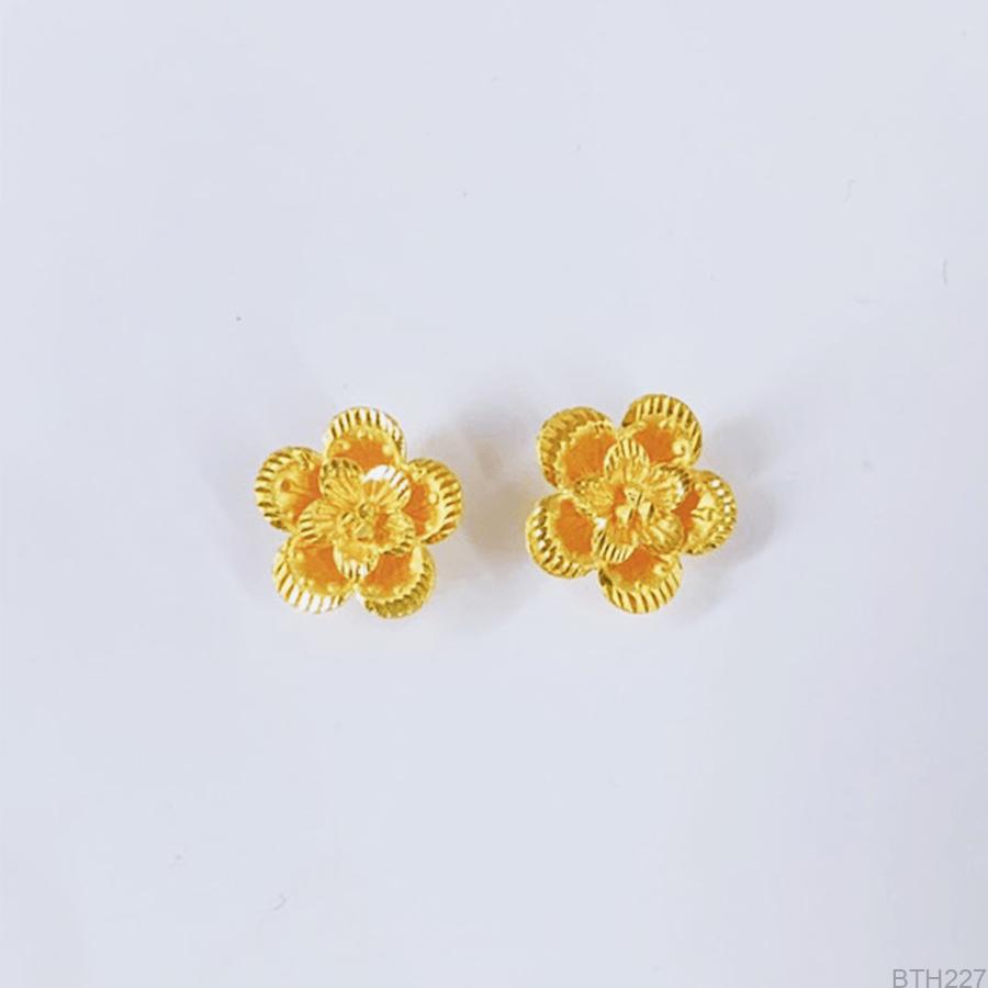 Bông Tai Cưới Vàng 24K - BTH227