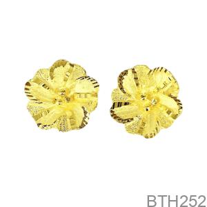 Bông Tai Cưới Vàng 24K - BTH252