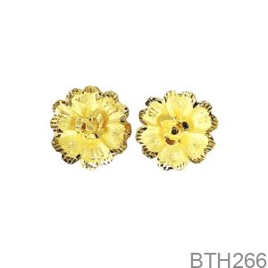 Bông Tai Cưới Vàng 24K - BTH266