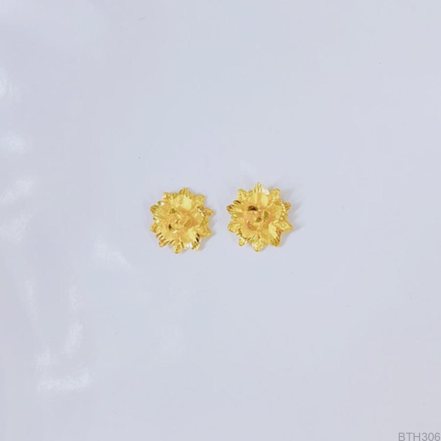 Bông Tai Cưới Vàng 24K - BTH306