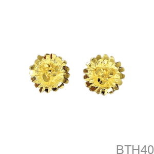 Bông Tai Cưới Vàng 24K - BTH40