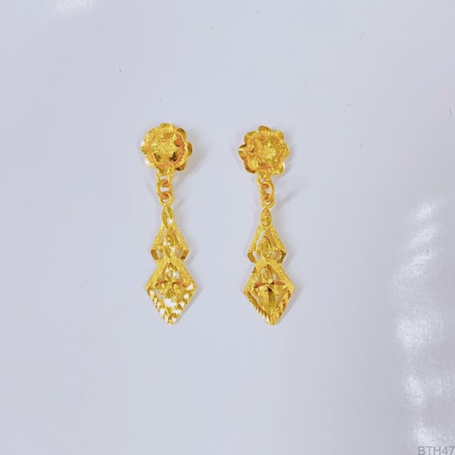 Bông Tai Cưới Vàng 24K - BTH47