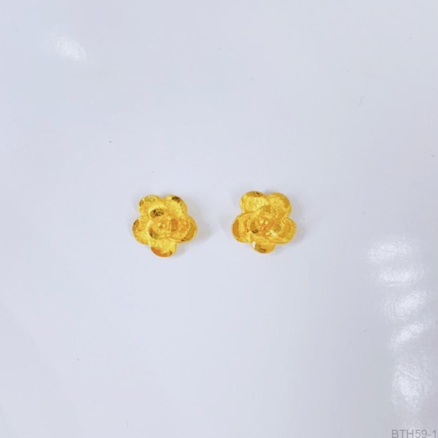 Bông Tai Cưới Vàng 24K - BTH59-1