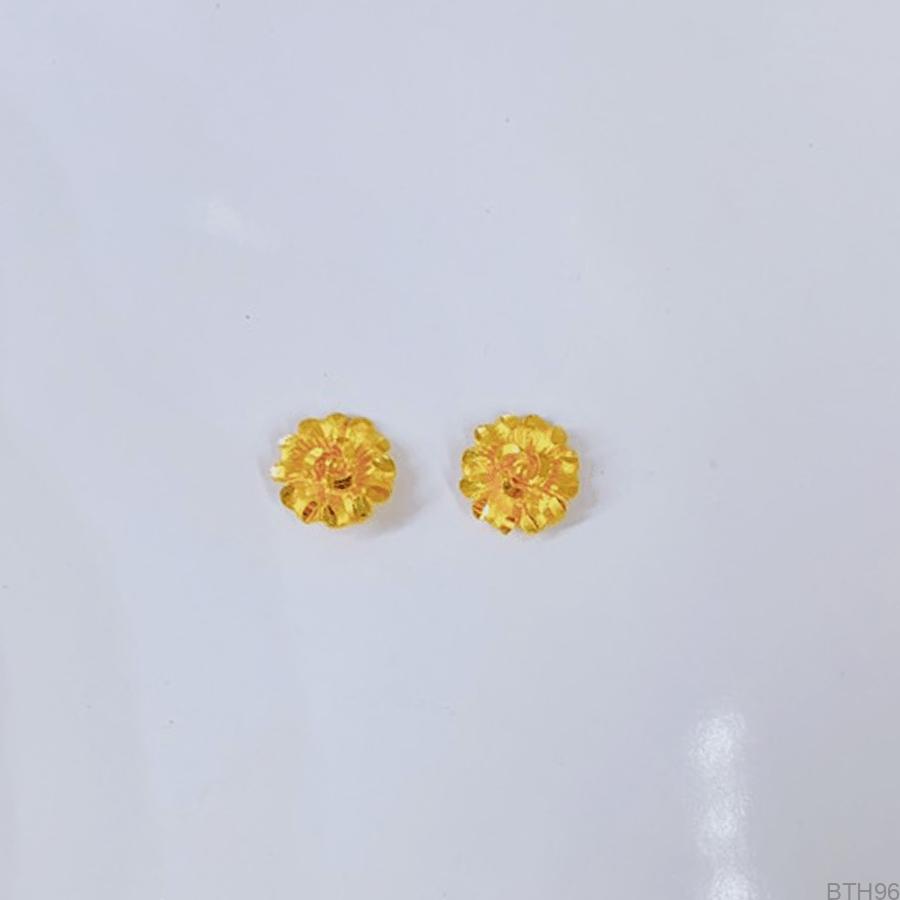 Bông Tai Cưới Vàng 24K - BTH96