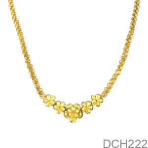 Dây Chuyền Cưới Vàng 24K - DCH222