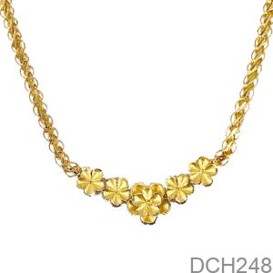 Dây Chuyền Cưới Vàng 24K - DCH248