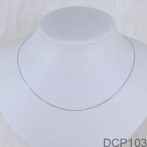 Dây Chuyền Nữ Vàng Trắng 10K - DCP103