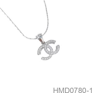 Mặt Dây Nữ Vàng Trắng 10K - HMD0780-1