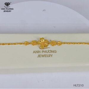 Lắc Tay Vàng Vàng 24K – HLT210