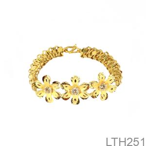 Lắc Tay Cưới Vàng 24K - LTH251