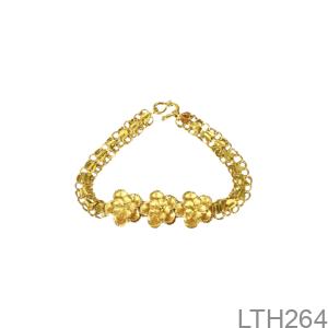 Lắc Tay Cưới Vàng 24K - LTH264
