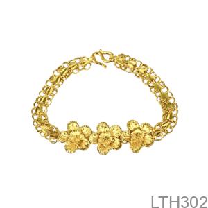 Lắc Tay Cưới Vàng 24K - LTH302