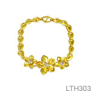 Lắc Tay Cưới Vàng 24K - LTH303