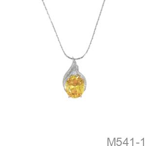 Mặt Dây Nữ Vàng Trắng 10K - M541-1