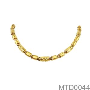 Dây Chuyền Nam Vàng Vàng 10K - MTD0044