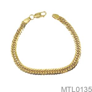 Lắc Tay Nữ Vàng Vàng 18K - MTL0135