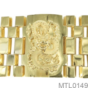Lắc Tay Nam Vàng Vàng 10K - MTL0149