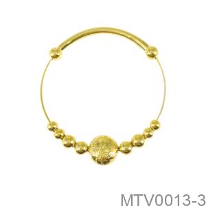 Vòng Tay Trẻ Em Hình Con Dê Vàng Vàng 18K - MTV0013-3