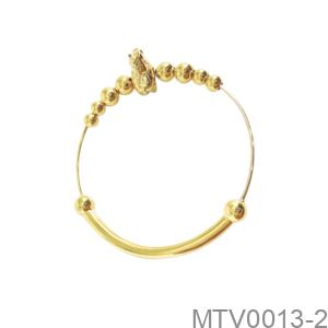 Vòng Tay Trẻ Em Hình Con Ngựa Vàng Vàng 18K - MTV0013-2
