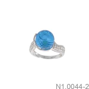 Nhẫn Nữ Vàng Trắng 10K - N1.0044-2