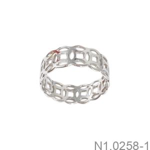Nhẫn Nữ Vàng Trắng 14K - N1.0258-1