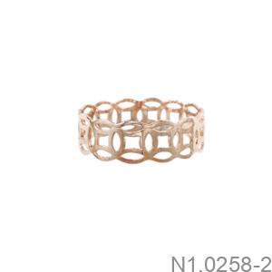 Nhẫn Nữ Vàng Hồng 18K - N1.0258-2