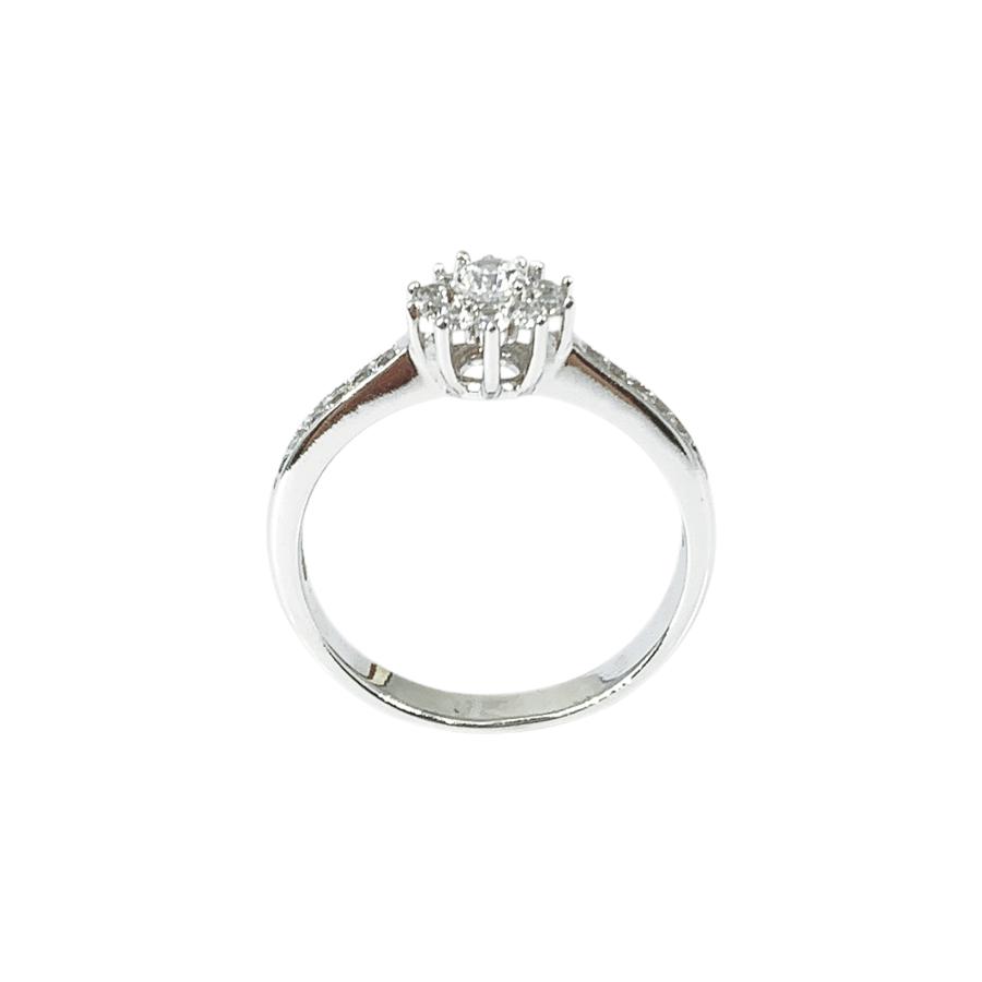 Nhẫn Nữ Vàng Trắng 10K - N1.0514