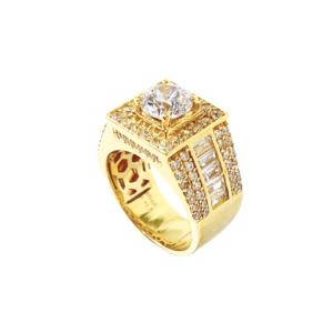Nhẫn Nam Vàng Vàng 18K - N2.0082