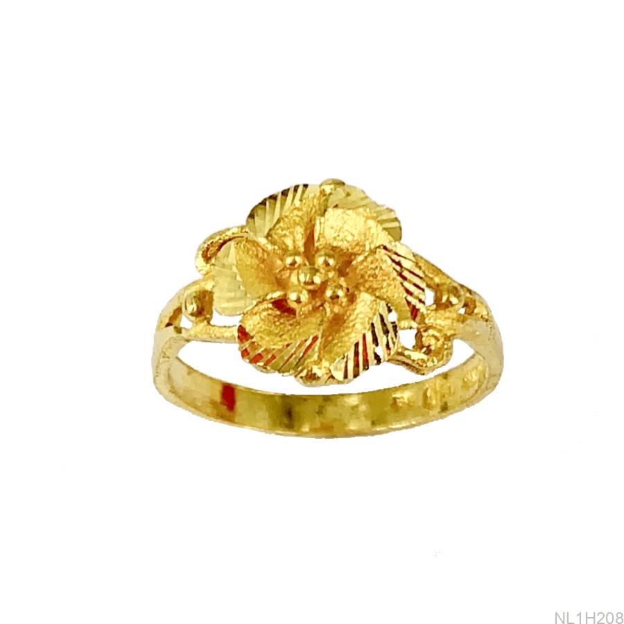 Nhẫn Nữ Vàng 24K - NL1H208