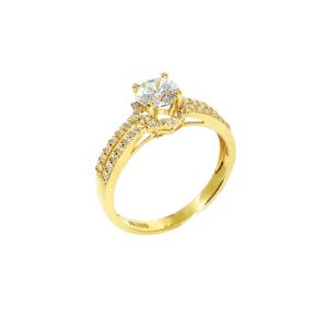 Nhẫn Nữ Vàng Vàng 18K - NLV02