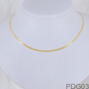 Dây Chuyền Nữ Vàng Vàng 18K - PDG03