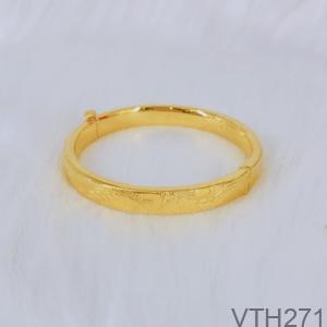 Vòng Tay Cưới Vàng 24K - VTH271