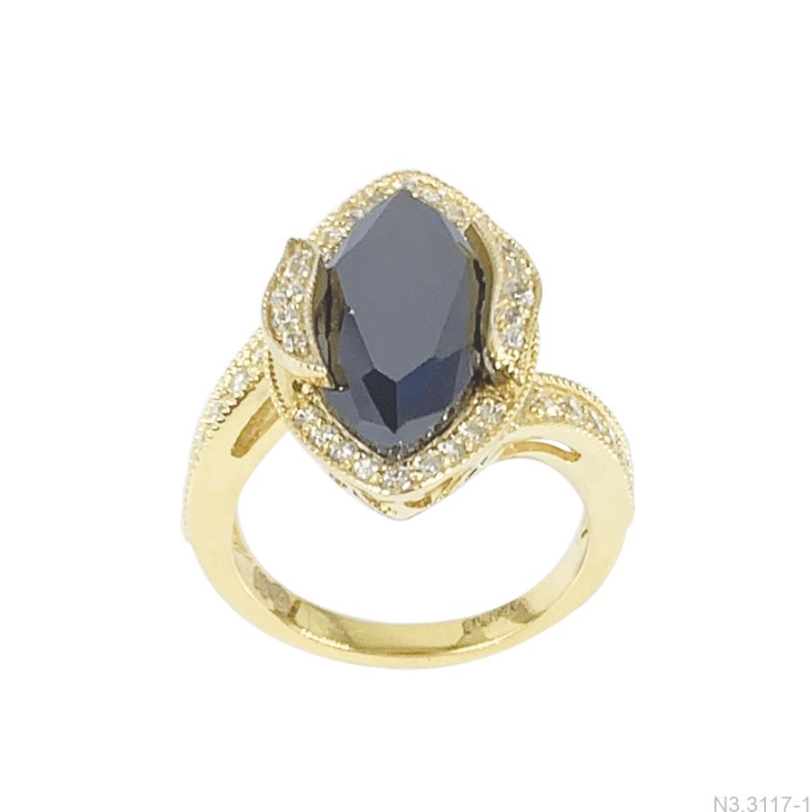 Nhẫn Nữ Vàng Vàng 18K - N3.3117-1