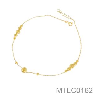 Lắc Chân Nữ Vàng Vàng 18K - MTLC0162