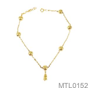 Lắc Chân Nữ Vàng Vàng 18K - MTL0152