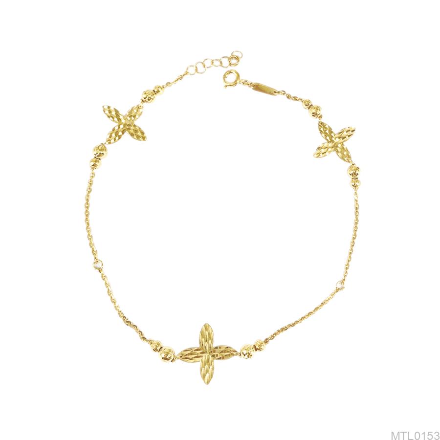 Lắc Chân Nữ Vàng Vàng 18K - MTL0153