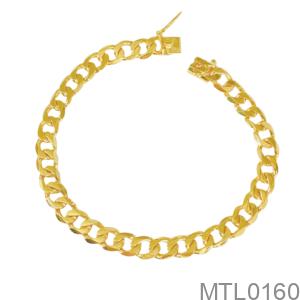 Lắc Tay Nam Vàng Vàng 18K - MTL0160