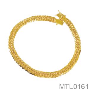Lắc Tay Nam Vàng Vàng 18K - MTL0161