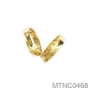 Nhẫn Cưới Vàng Vàng 18K - MTNC0468