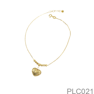 Lắc Tay Nữ Vàng Vàng 18K - PLC021